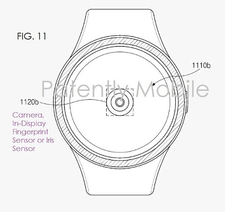 The patent filed by Samsung