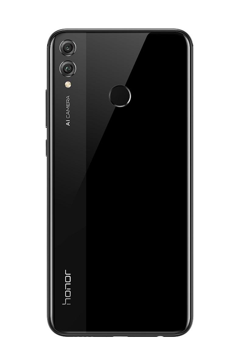 honor 8x black back