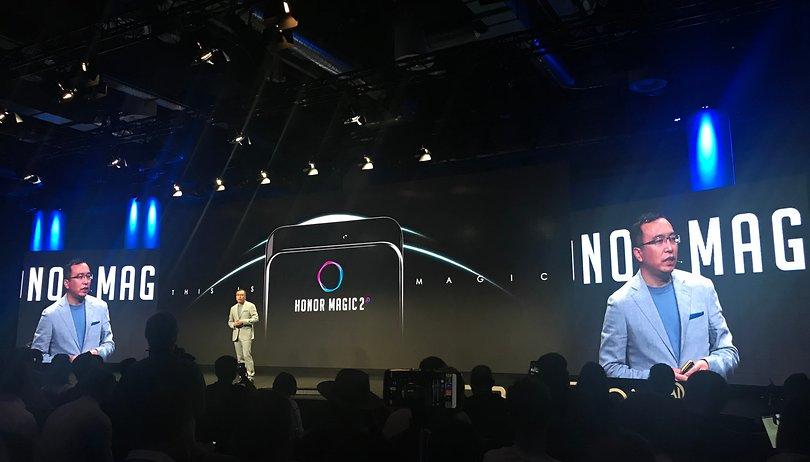 Honor Magic 2 é lançado com três câmeras atrás e na frente