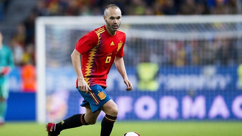 iniesta spain worldcup
