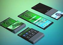 """Lenovo patenteia smartphone com tela que """"dobra"""" na vertical"""