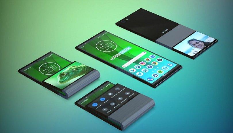 Voici à quoi ressemblerait le smartphone pliable de Lenovo