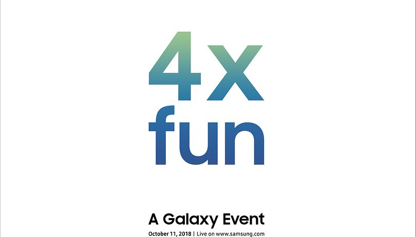 Samsung reveals Galaxy event for October promising '4x fun'