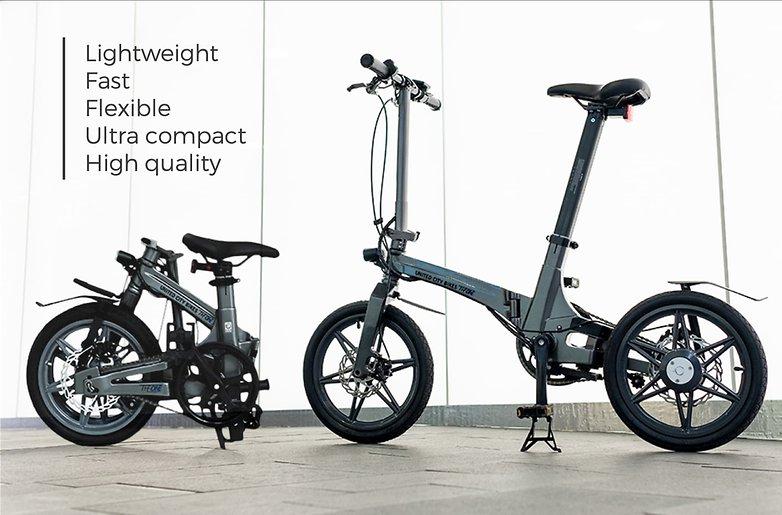 United City Bikes: Das leichteste klappbare E-Bike der Welt