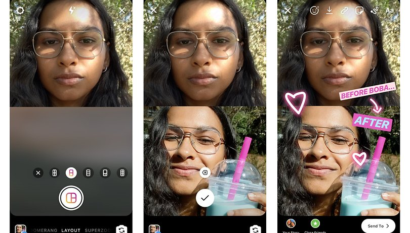So nutzt Ihr die 'Layout'-Funktion in Euren Instagram-Stories