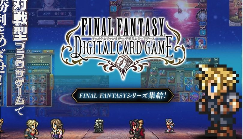 A Final Fantasy digital card game is coming... to Japan at least
