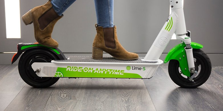 Lime S Gen 3 Rider2 electrek