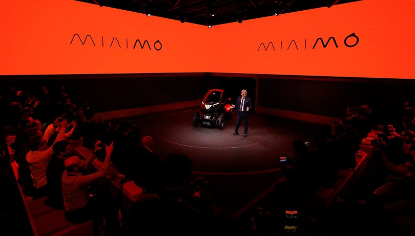 SEAT unveils the Minimó, a hyperconnected 5G concept car