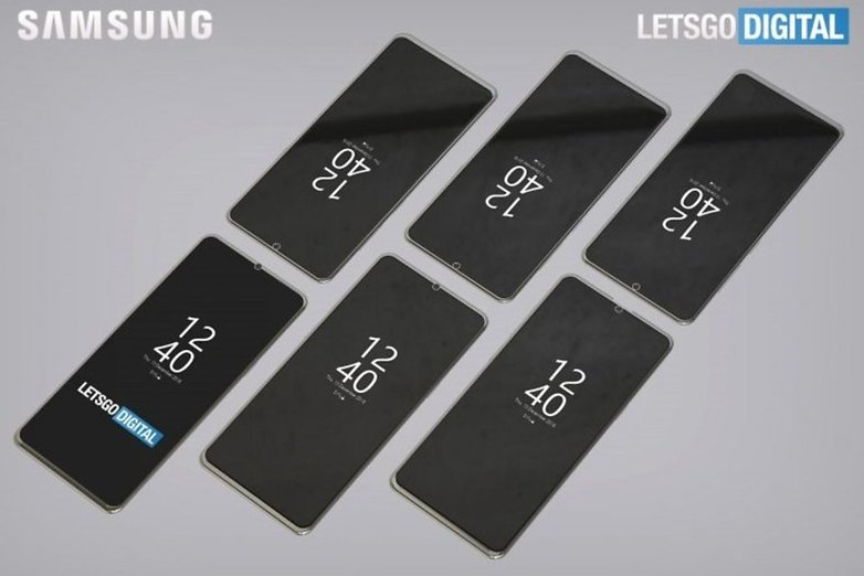 Samsung patents even more notches each smaller than the other