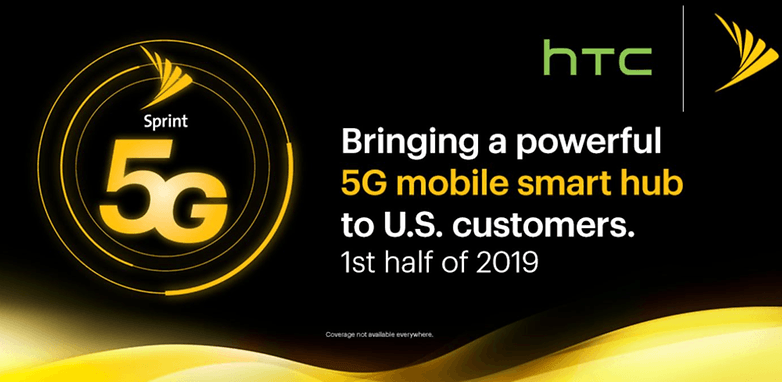 Sprint HTC 5G partnership