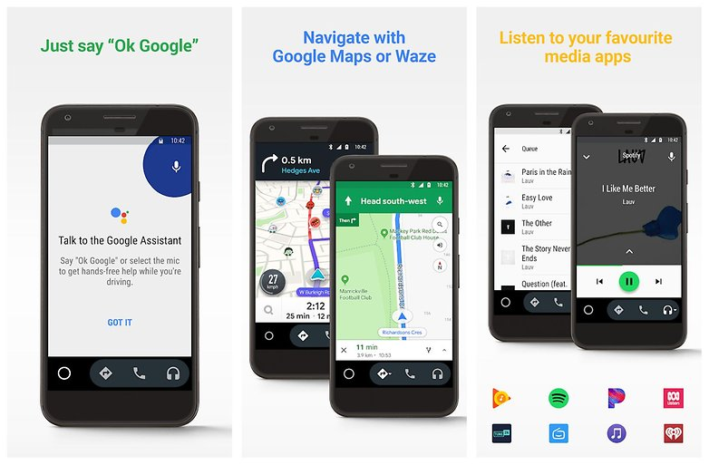 android auto play store