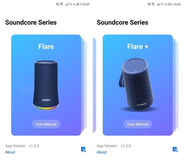 anker soundcore flare app