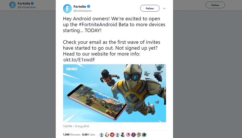 Itching to play Fortnite on Android? You'll need one of these phones