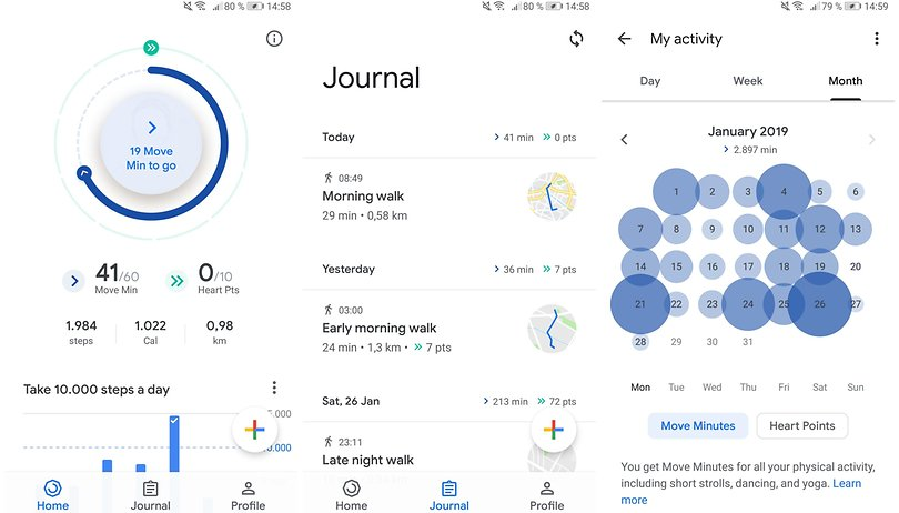 Google Fit receives a fresh new look