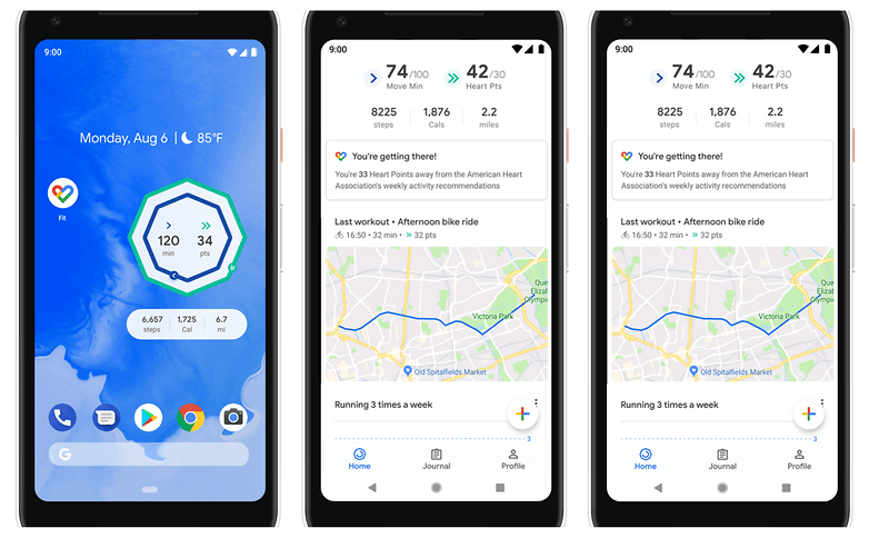 Google Fit updated with breathing exercises and home screen widgets