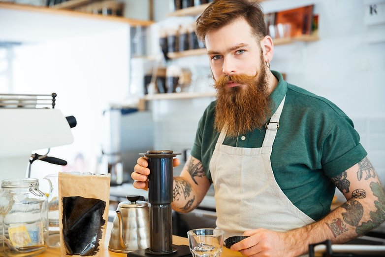 hipster coffee