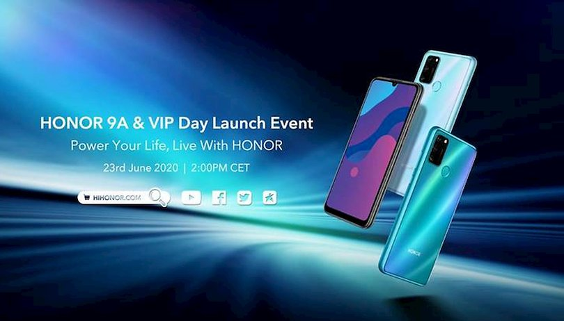 Honor 9A: Launch-Event mit Live-Stream findet am 23. Juni statt