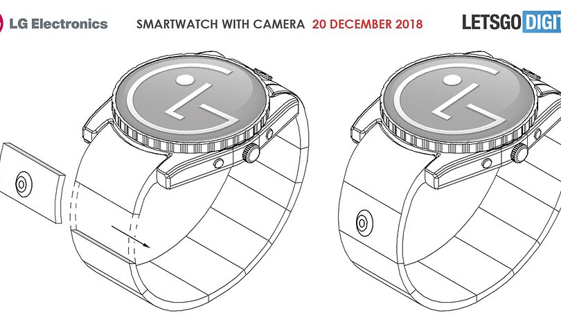 LG could release a smartwatch with a camera in the strap