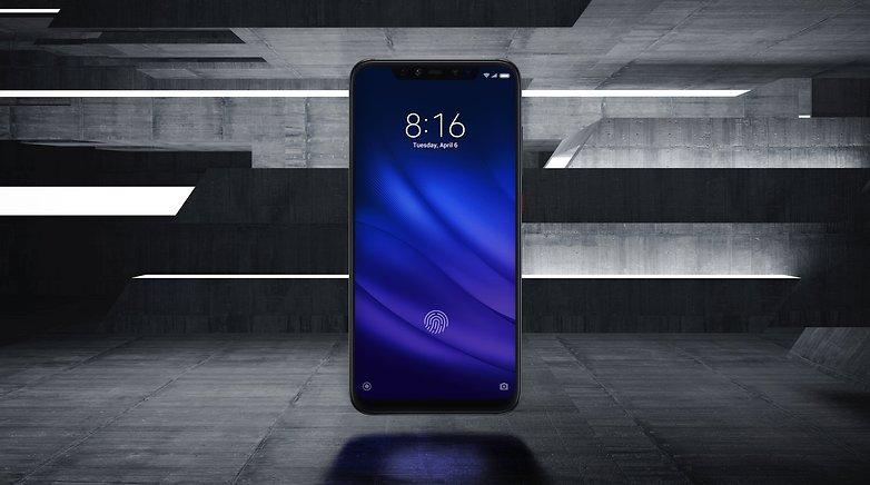 mi 8 pro fingerprint