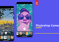 You can download the Adobe Photoshop Camera app from today