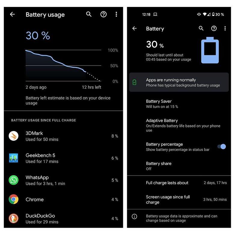 pixel 5 battery test