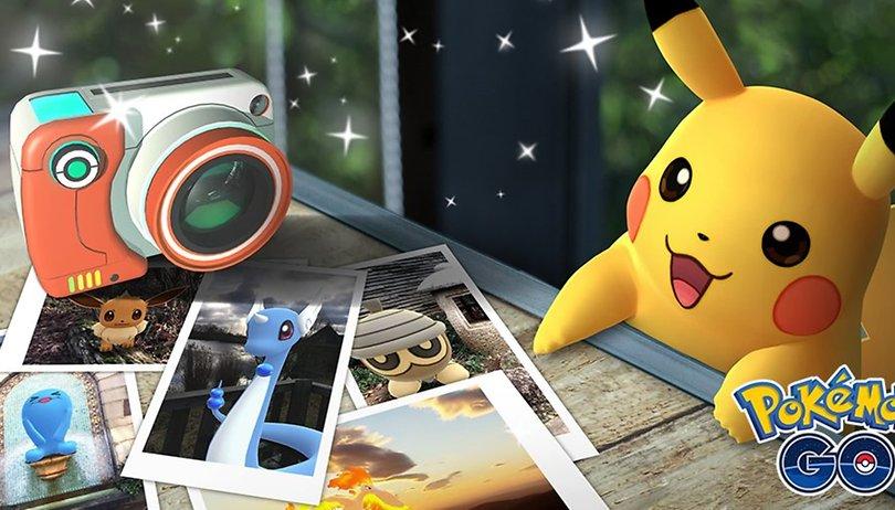 Pokémon GO : une fonctionnalité AR baptisée Cliché Go est maintenant disponible
