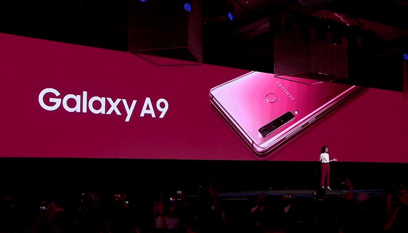 Galaxy A9 (2018) è ufficiale: l'innovazione passa prima dalla fascia media