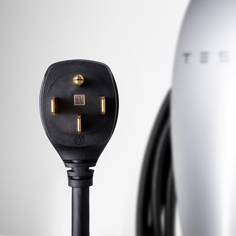How Long Does A Tesla Take To Charge >> Tesla's new home charging station plugs into a wall outlet | AndroidPIT