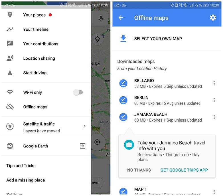 use google maps offline 01