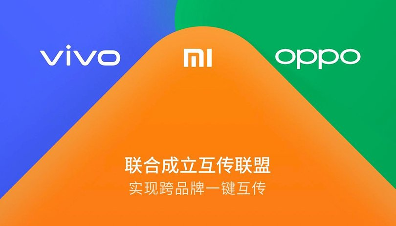 Xiaomi, Oppo and Vivo announce Android Beam replacement