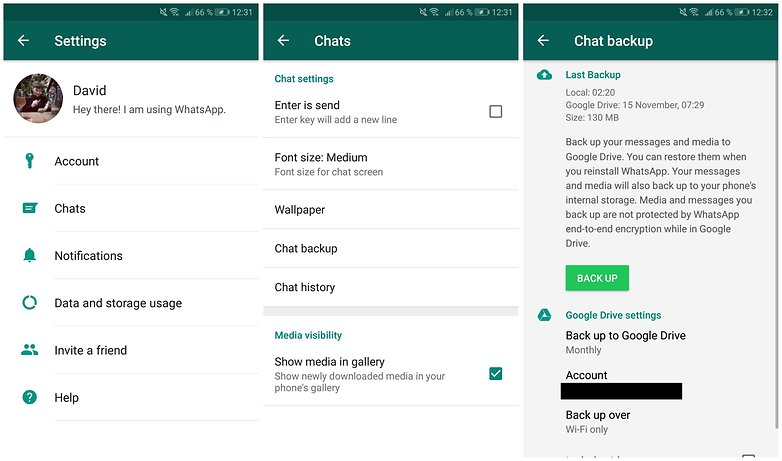 How To Transfer Old Whatsapp Chats To Your New Smartphone Androidpit