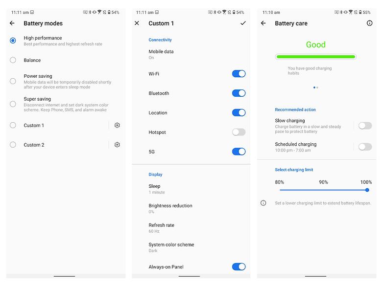 zenfone 7 pro battery screenshot