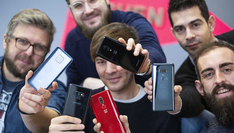 Our selection of the best Android smartphones - April 2019