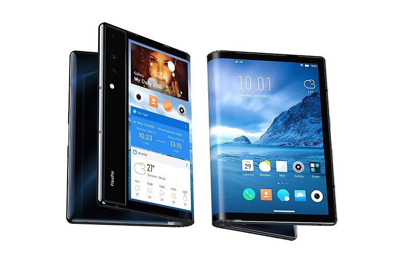 Foldable phone