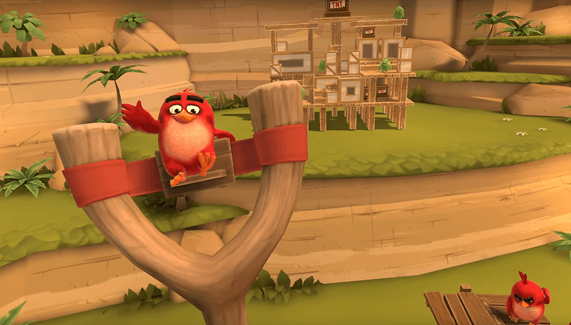 Smartphone classic Angry Birds makes its way onto VR