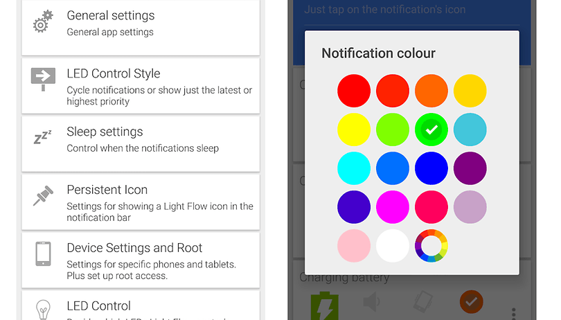 How to change your LED notification colors on Android