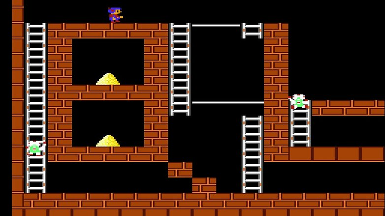 lode runner stages 6 10 nes