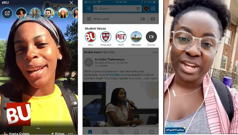 "Las Stories llegan a LinkedIn y se llaman ""Student Voices"""