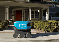 Amazon Scout: the first six-wheeled robot for home deliveries