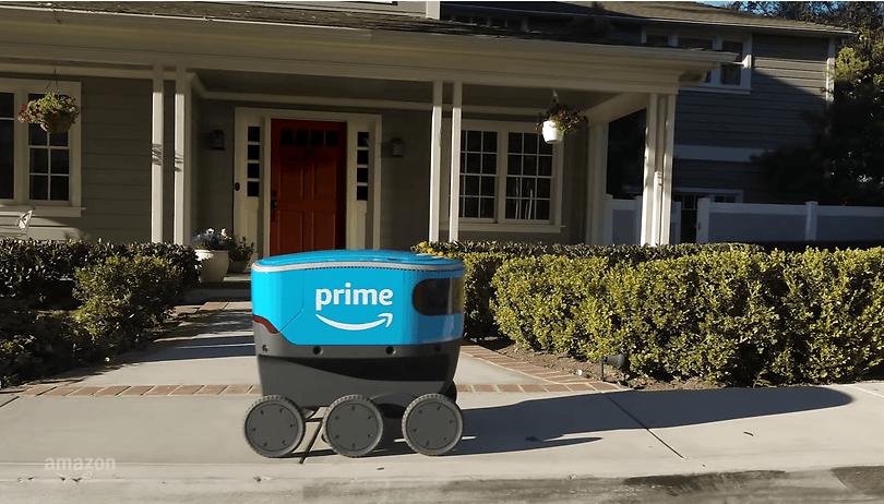 Découvrez Scout, le premier robot-livreur d'Amazon