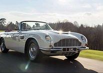 Aston Martin rende elettriche le sue auto del passato