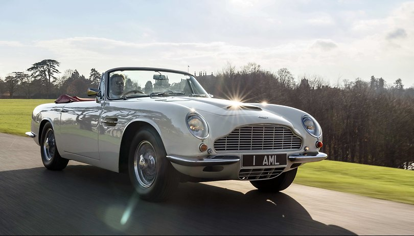 Aston Martin is making its classic cars electric