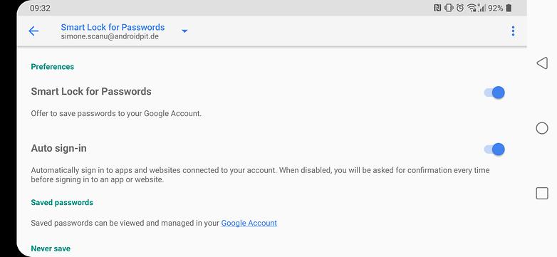 google smartlock