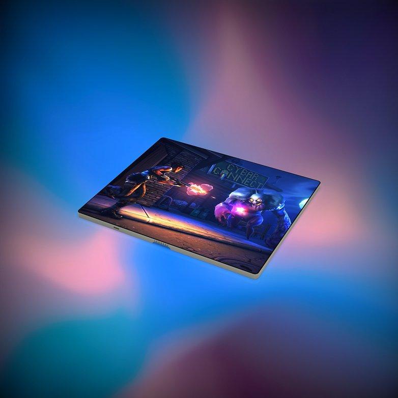 huawei foldable smartphone 3d renders 1