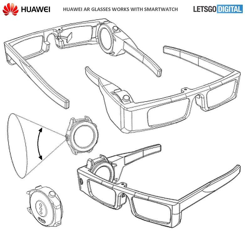 huwaei ar glasses patent 2