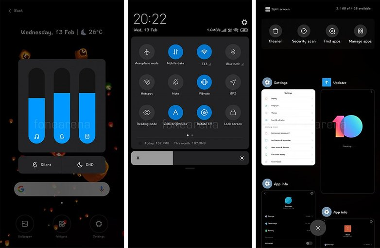 MIUI 10: Xiaomi implements native Dark Mode | AndroidPIT