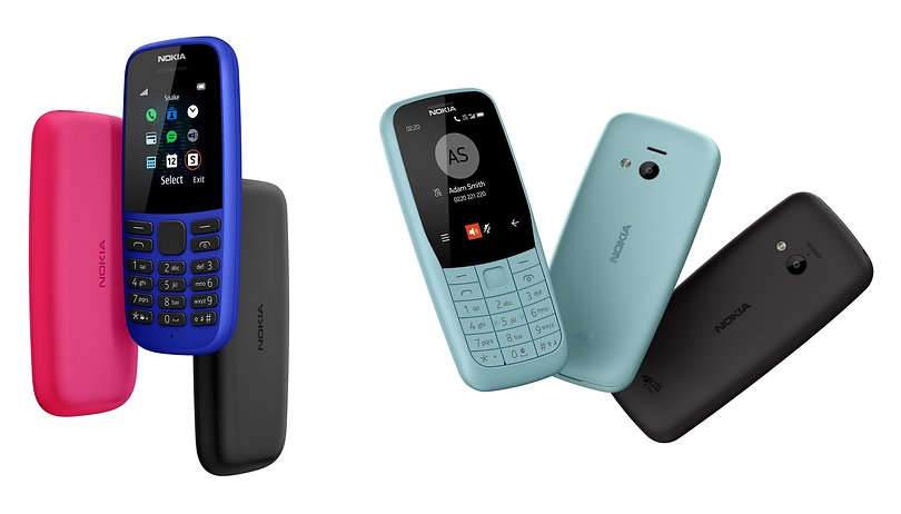 Nokia 105 e Nokia 220 4G: arrivano i nuovi feature phone