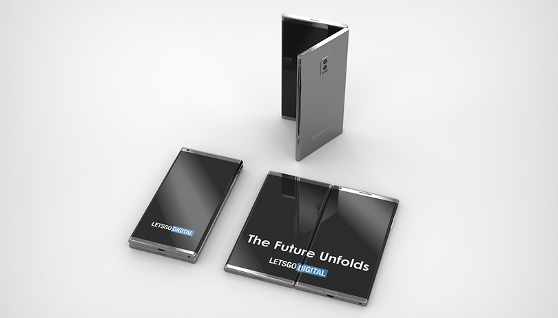 Is this the Samsung foldable phone we will see at Unpacked?