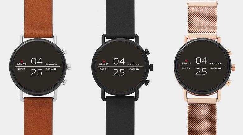 Skagen Falster 2è forse il miglior smartwartch Wear OS con funzionalità fitness