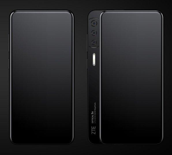 Slider Smartphone Zte Schiebt Beim Axon S Die Kamera Beiseite